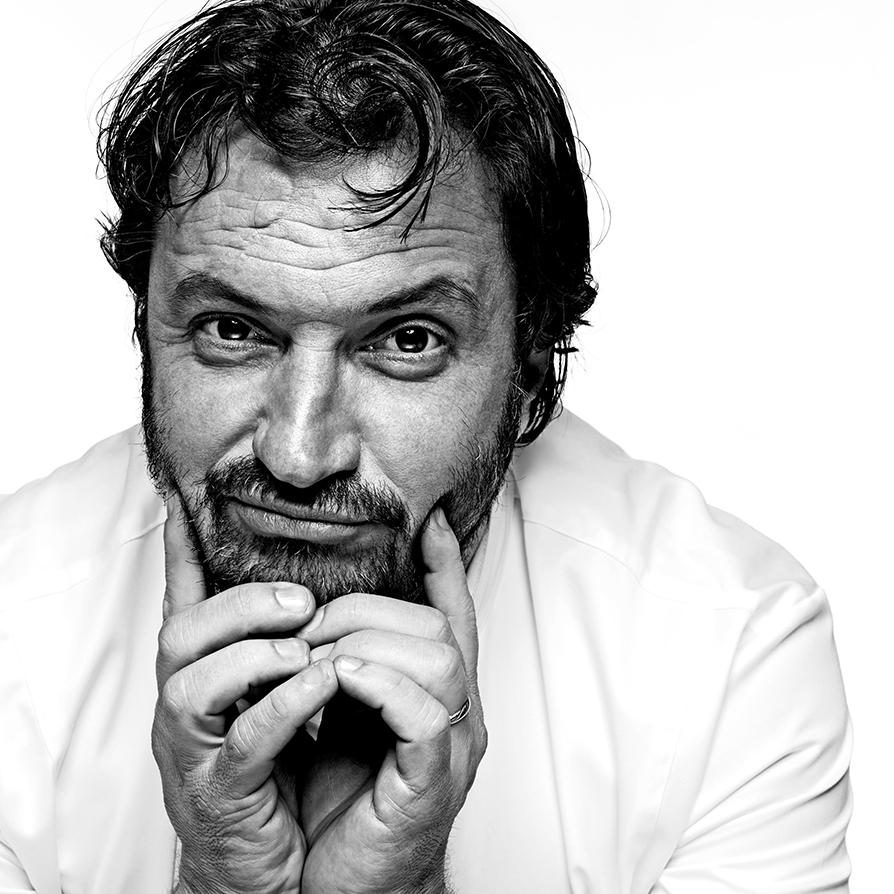Yves Camdeborde, par Stéphane de Bourgies